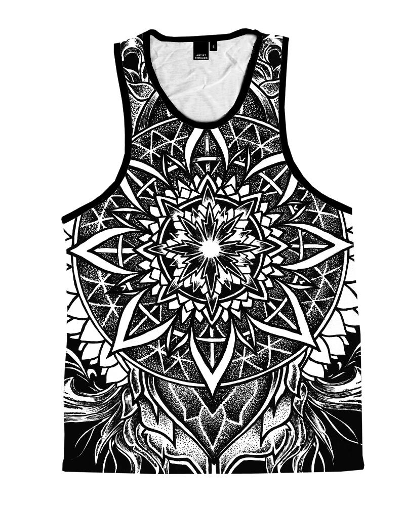 Night Crawler Mandala Unisex Tank Top Tank Tops T6