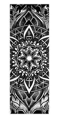 Night Crawler Mandala Yoga Mat Yoga Mat Electro Threads