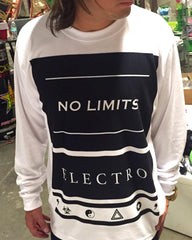 No Limits Mens Long Sleeve Long Sleeve Electro Threads