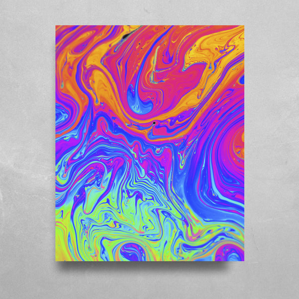 Nuclear HD Metal Panel Print Ready to Hang HD Metal Print Electro Threads