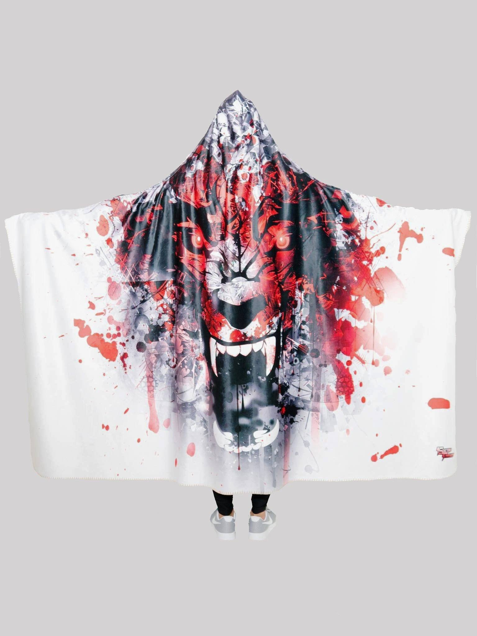 On the Hunt Hooded Blanket Hooded Blanket Electro Threads