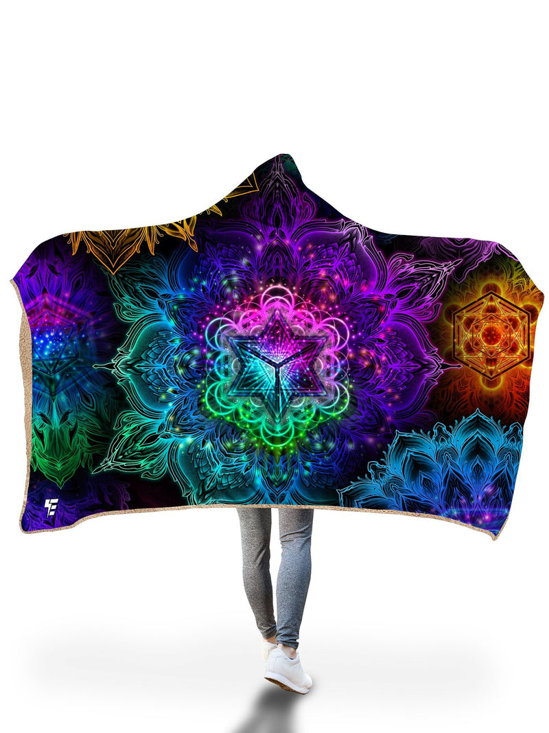 Oneness Hooded Blanket Hooded Blanket Electro Threads