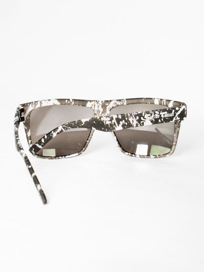Paint Splatter Sunglasses Glasses Electro Threads