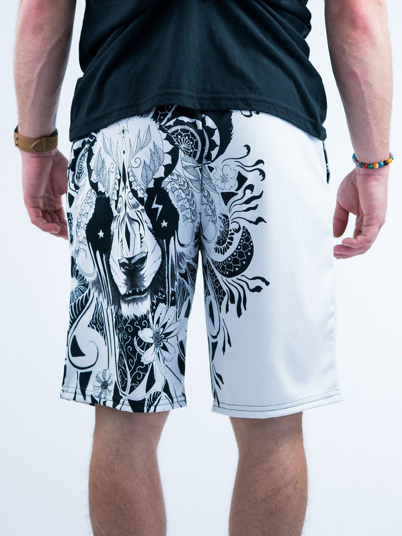 Panda Shorts Mens Shorts T6 28 - XS White