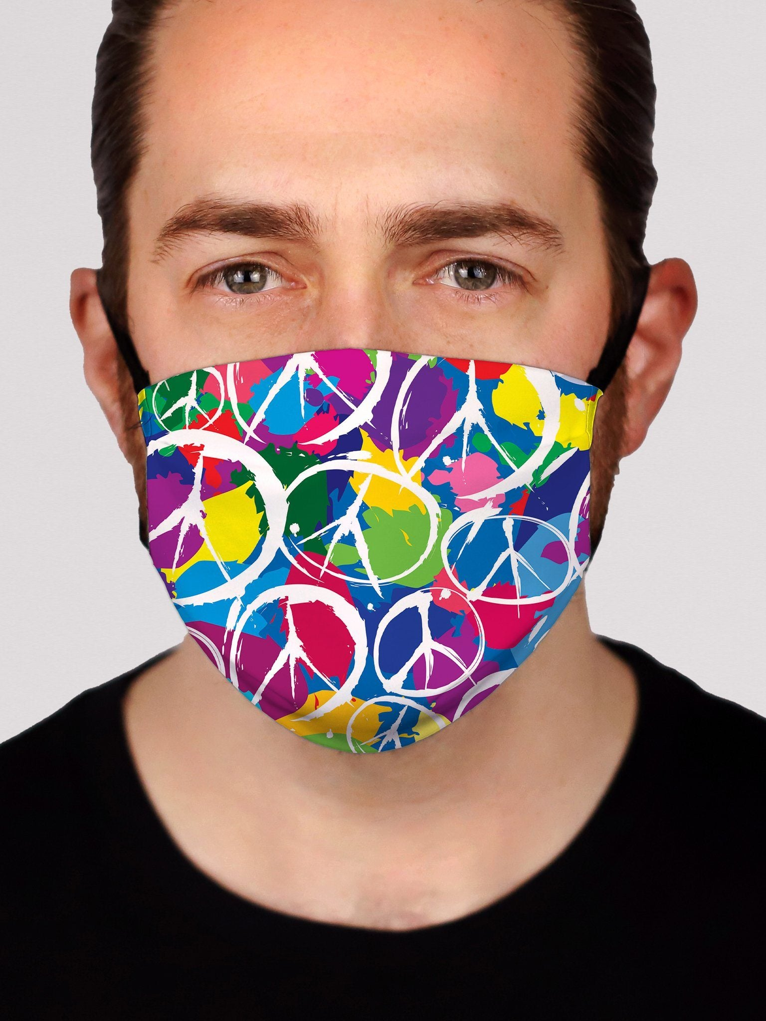 PEACE Face Mask Face Masks Electro Threads