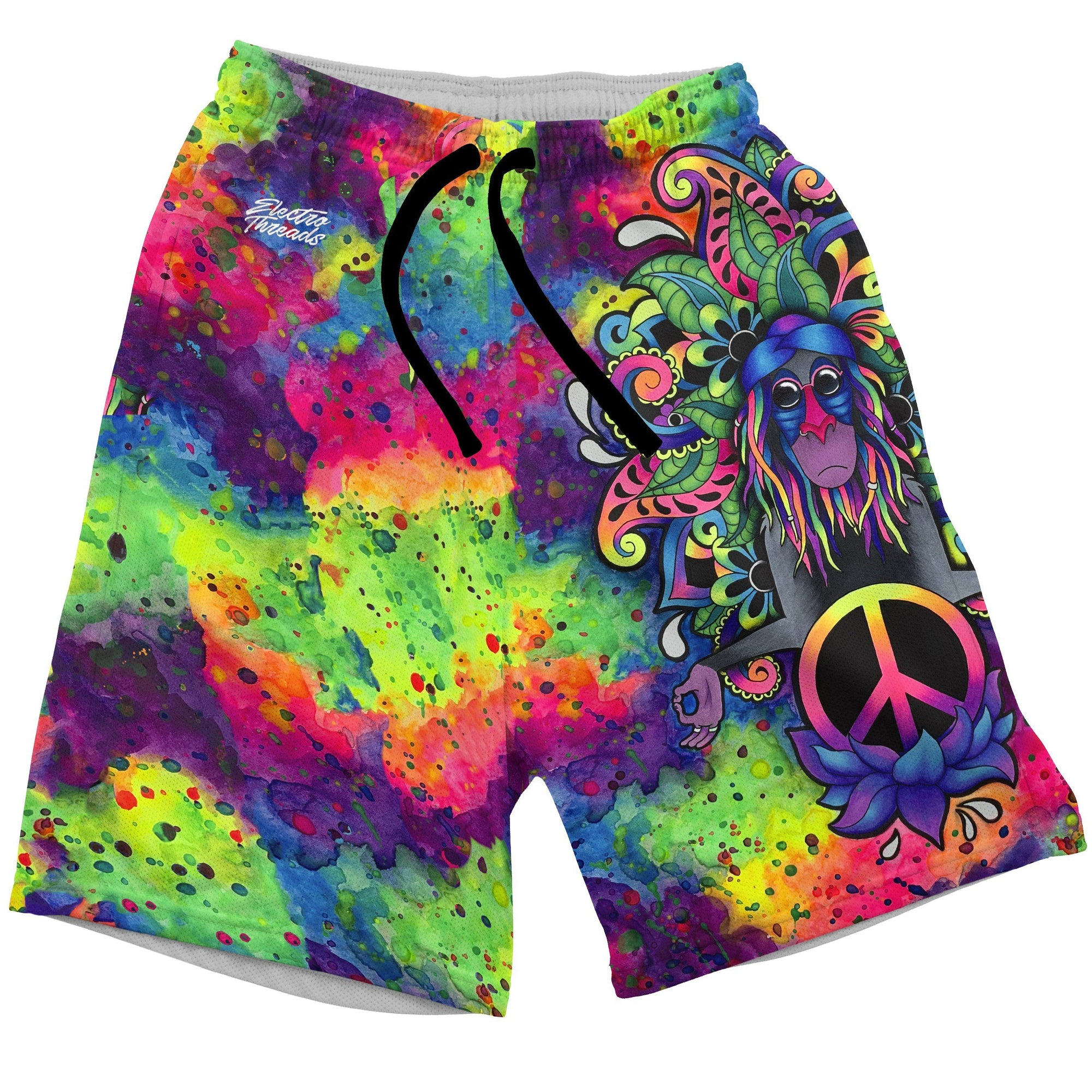 Peace Rafiki Swim Trunks Mens Swim Trunks T6