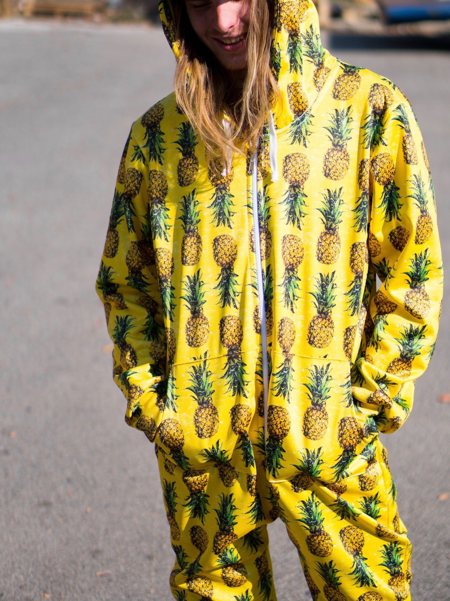 Pineapple Adult Onesie Onesie T6