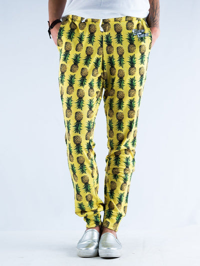 Pineapple Pajama Pants Pajama Pants T6 S Yellow