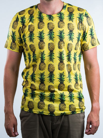 Pineapple Unisex Crew T-Shirts T6