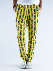 Pineapple Unisex Joggers Jogger Pant T6 S Lightweight Yellow