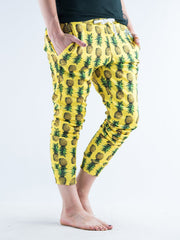 Pineapple Unisex Joggers Jogger Pant T6 S Regular Yellow
