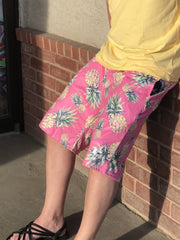 Pink Pineapple Shorts Mens Shorts T6