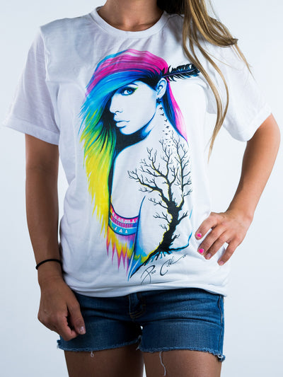 Pixie Unisex Crew T-Shirts Electro Threads