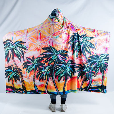 Playa Dreams Hooded Blanket Hooded Blanket Electro Threads