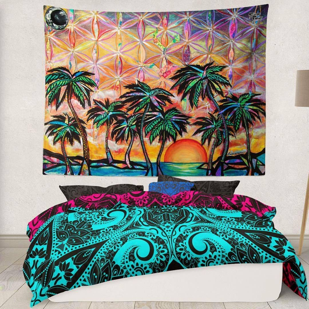 Playa Dreams Wall Tapestry Tapestry Electro Threads