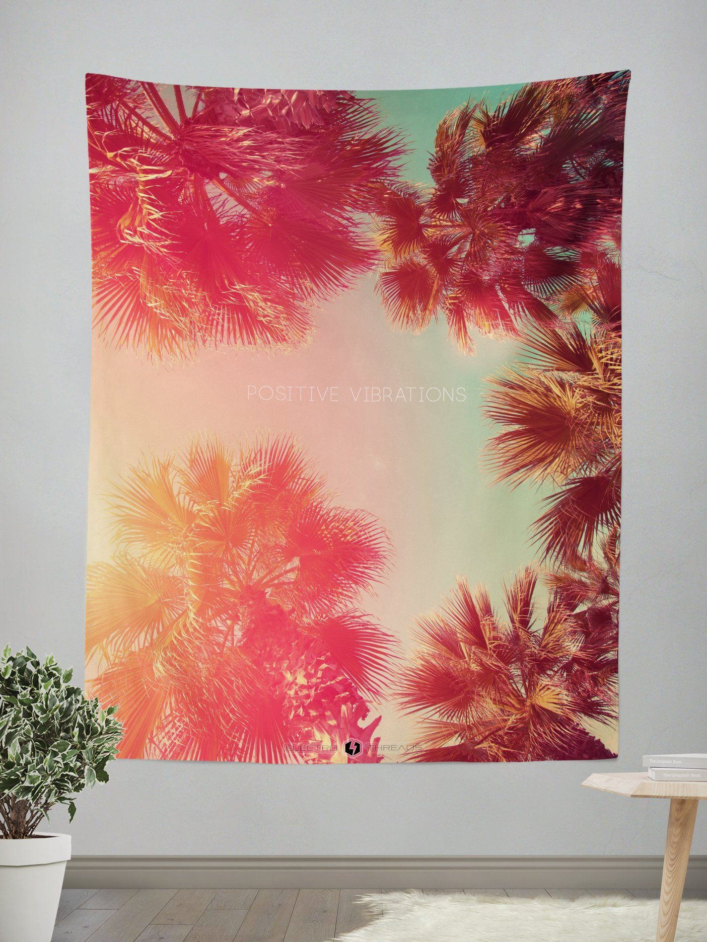 Positive Vibrations Tapestry Electro Threads