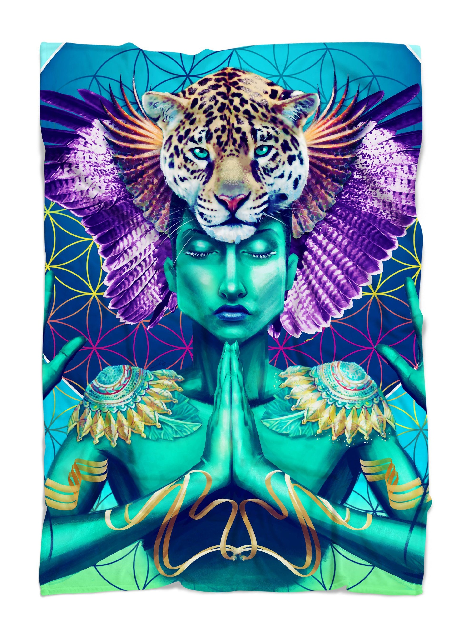 Power and Peace Blanket Blanket Electro Threads