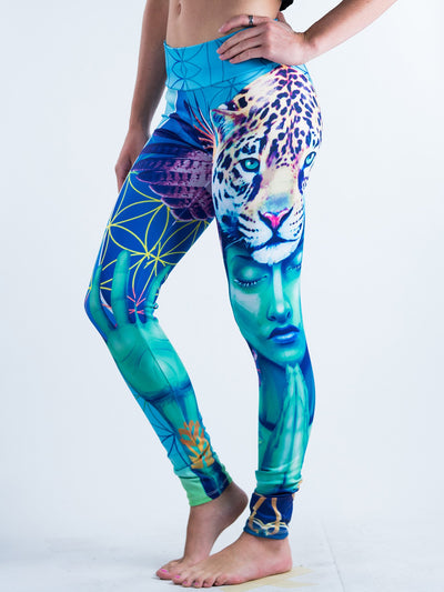 Power and Peace Leggings Leggings T6