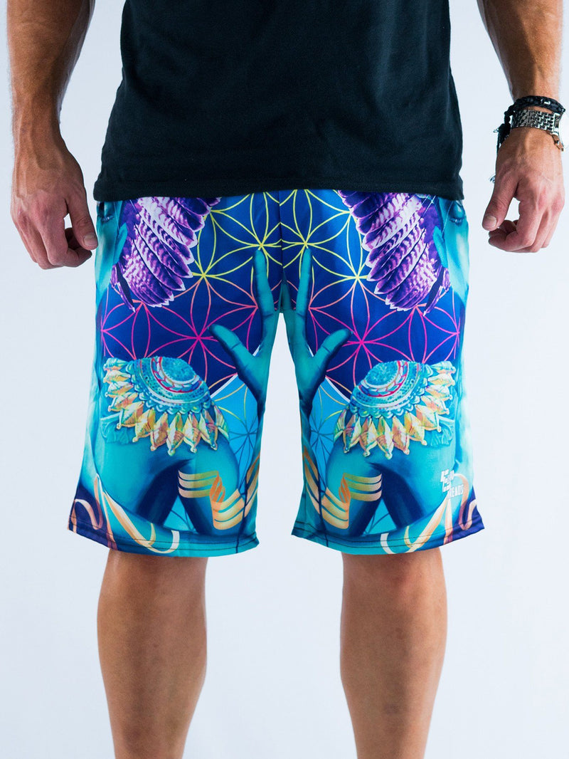Power and Peace Shorts Mens Shorts T6