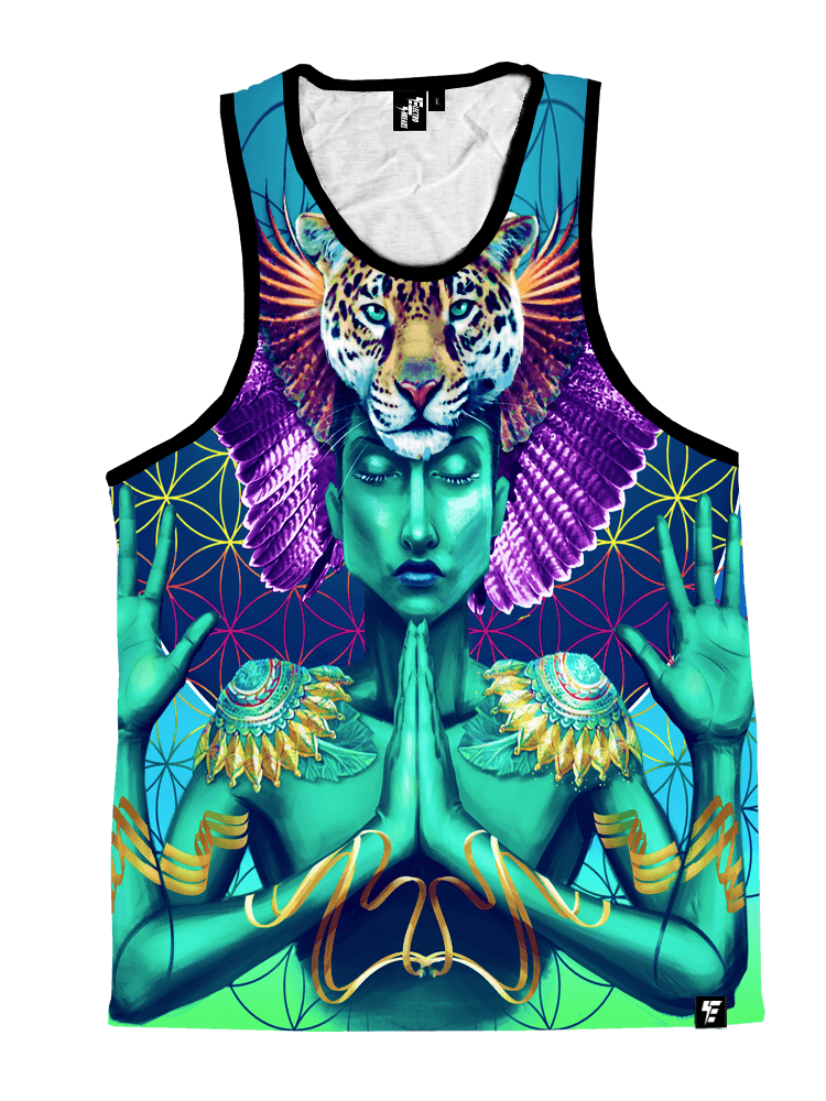 Power and Peace Unisex Tank Top Tank Tops T6 X-Small Tank-top