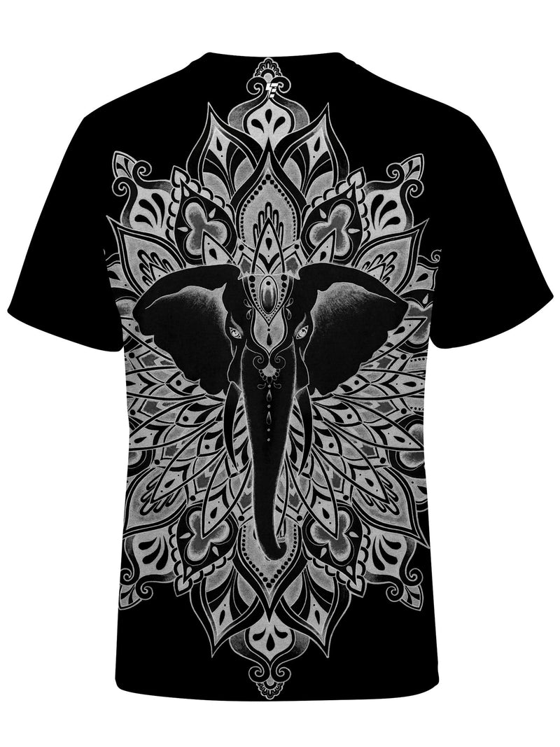 Power Mandala Unisex Crew T-Shirts Electro Threads