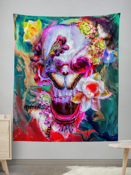 Precipice Wall Tapestry Tapestry Electro Threads