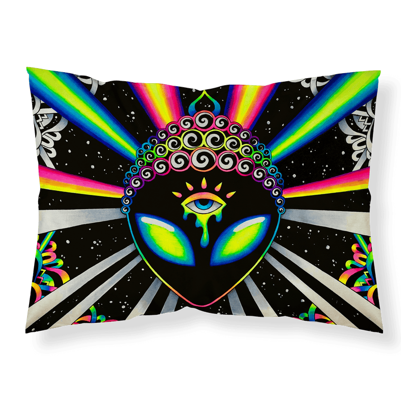 Psy Vibez Pillowcase Pillowcase Electro Threads