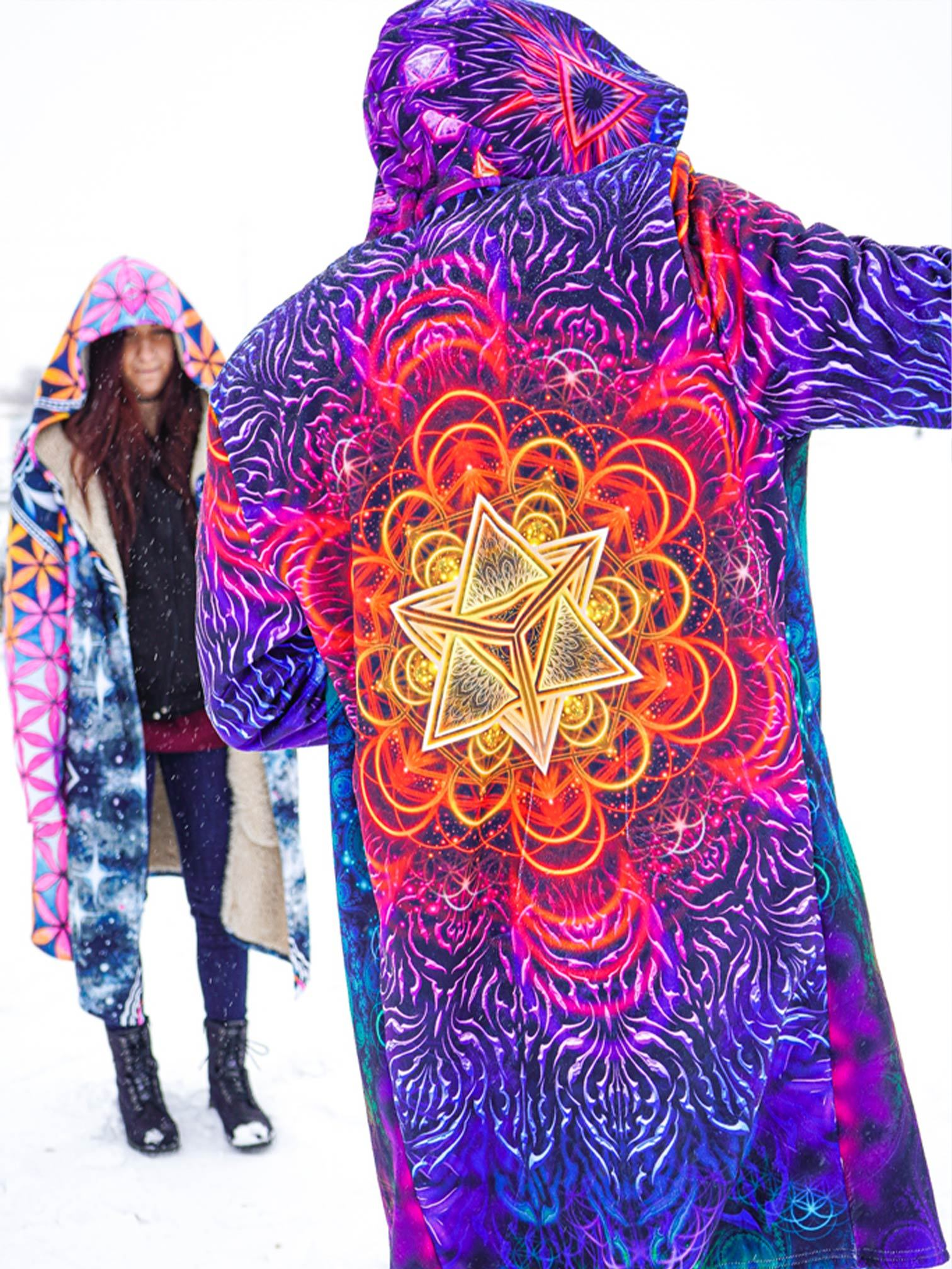 Psychedelic Awakening Dream Cloak Dream Cloak Electro Threads