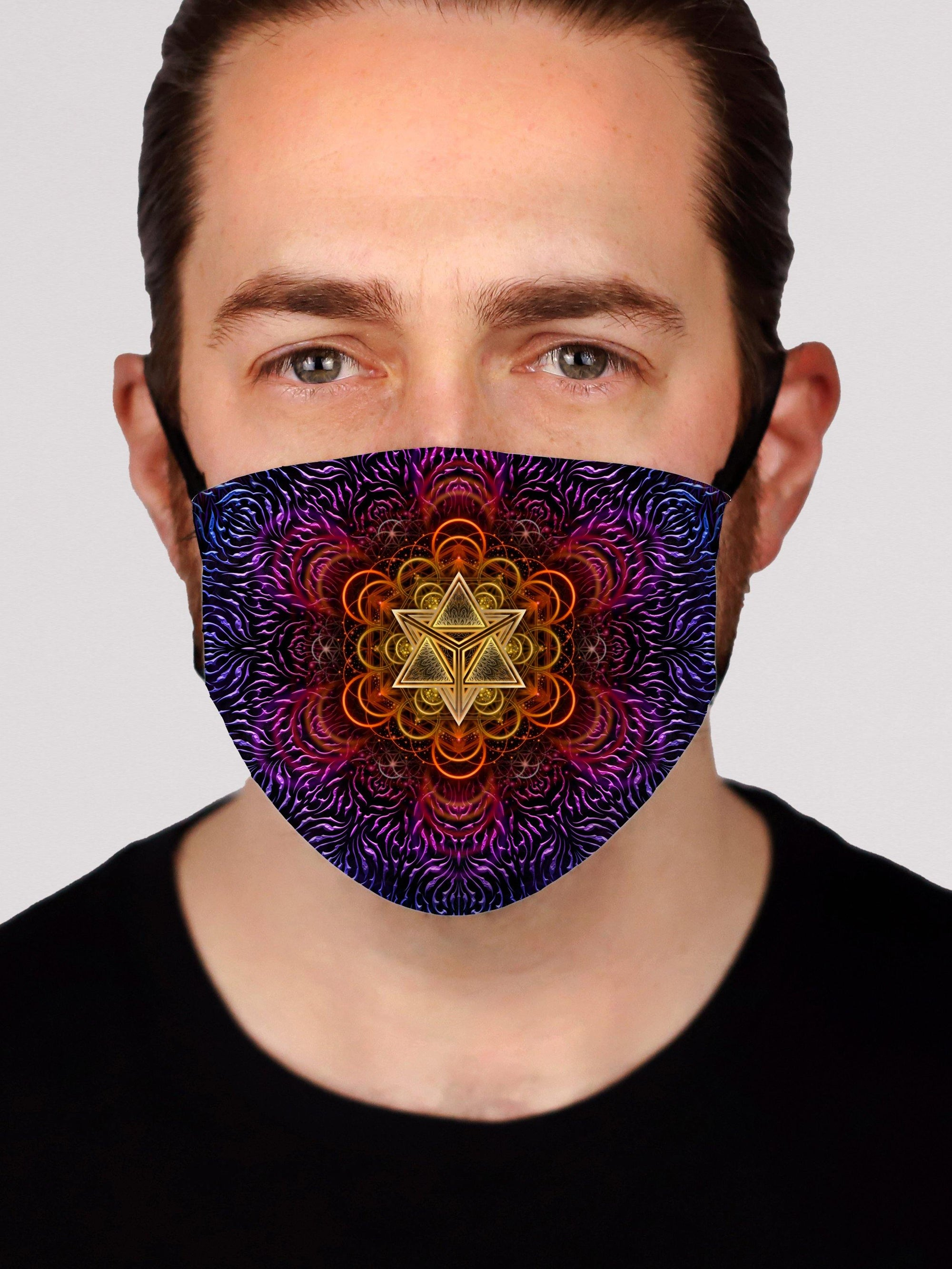 Psychedelic Awakening Face Mask Electro Threads