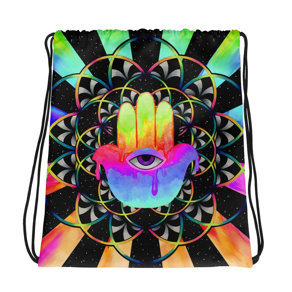 PsyHamsa Shoulder Bag Shoulder Bag Electro Threads