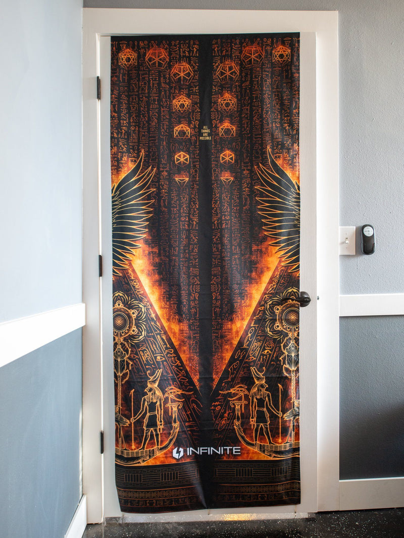 Ra Rising (Gold) Door Cover Door Cover Electro Threads