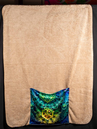 Ra Rising PHOENIX SHADOW Footed Blanket Footed Blanket Electro Threads