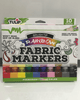 Rainbow Fabric Markers 10 Pack Fabric Markers Electro Threads