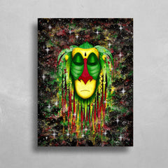 Rasta Rafiki HD Metal Panel Print Ready to Hang HD Metal Print Electro Threads