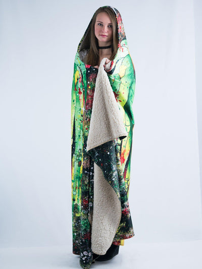 Rasta Rafiki Hooded Blanket Hooded Blanket Electro Threads