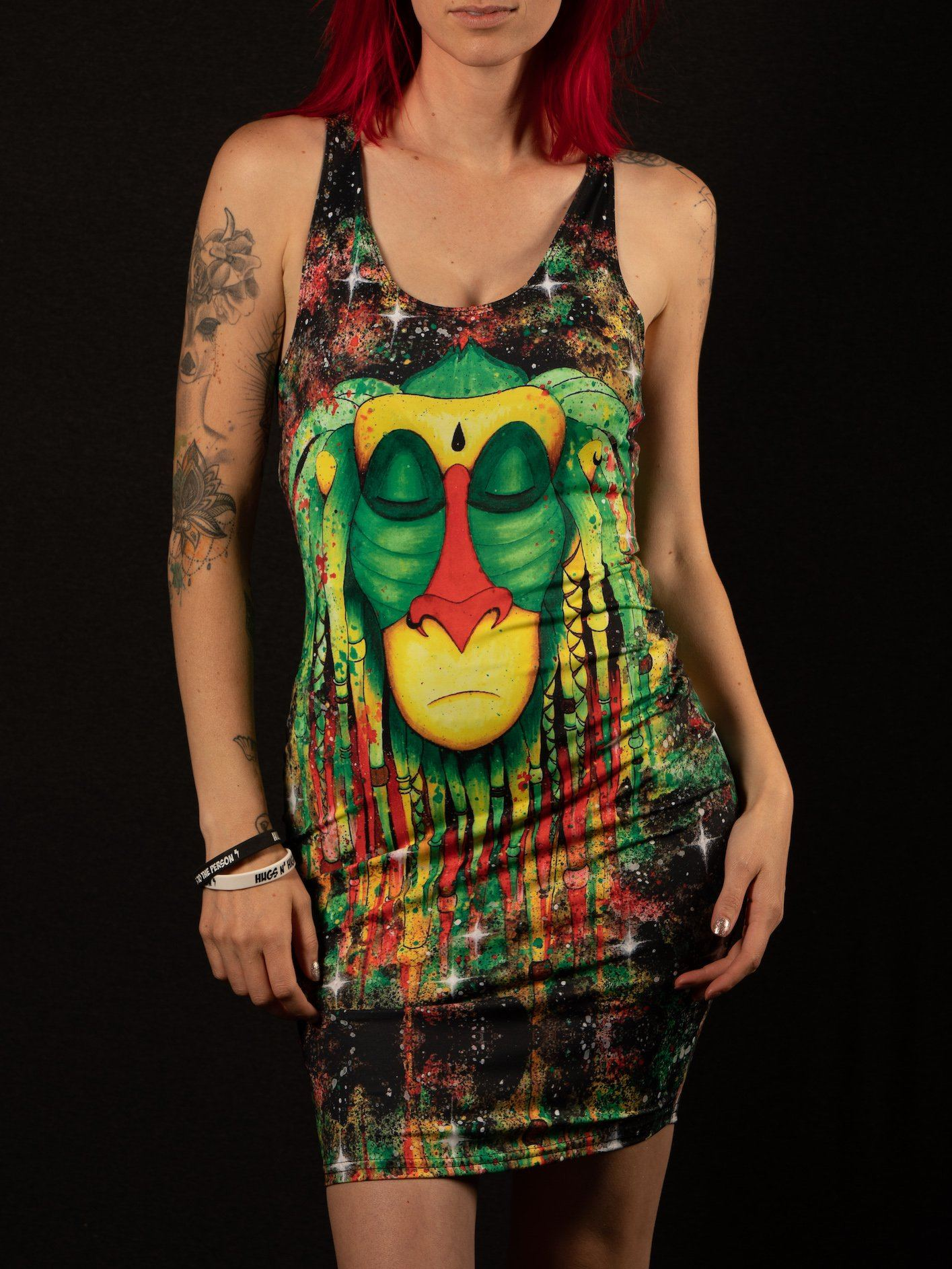 Rasta Rafiki Mini Dress Dress T6