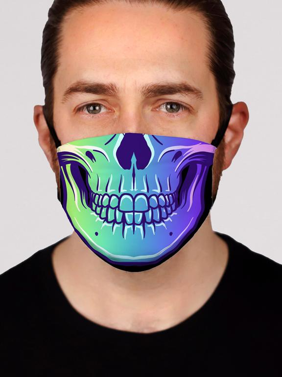 Rave to the Grave Face Mask Electro Threads