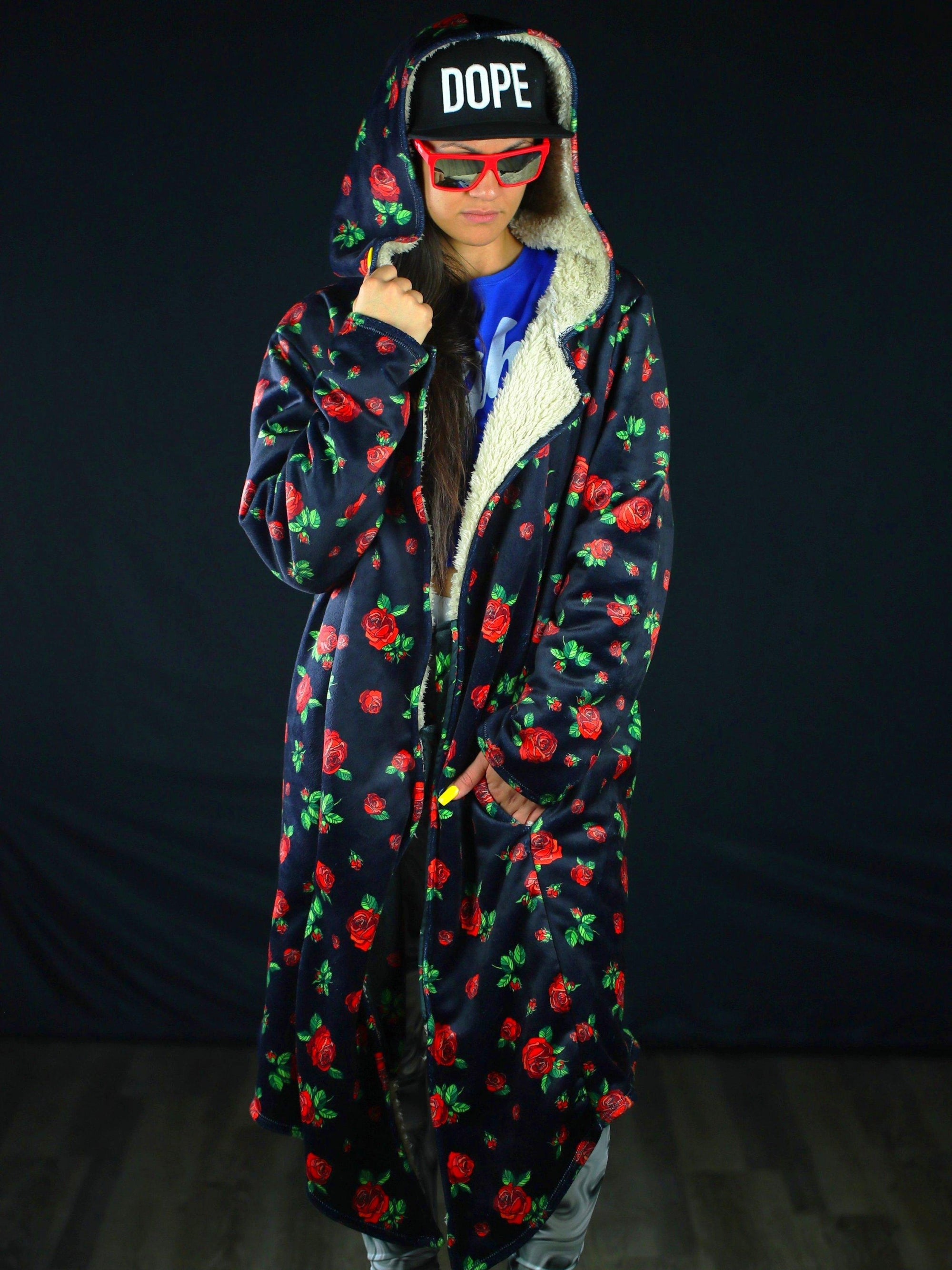 Red Roses Dream Cloak Dream Cloak Electro Threads