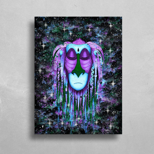 Relaxed Rafiki HD Metal Panel Print Ready to Hang HD Metal Print Electro Threads