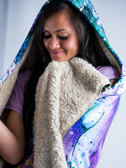 Relaxed Rafiki Hooded Blanket Hooded Blanket Electro Threads