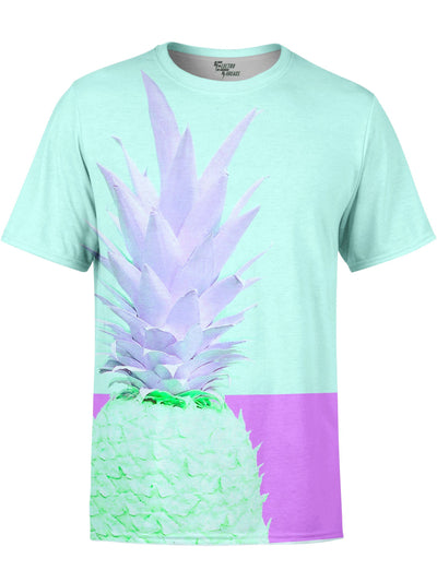 Retro Fineapple Unisex Crew T-Shirts T6