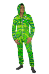 Rick and Morty Neon Portal Adult Onesie Electro Threads