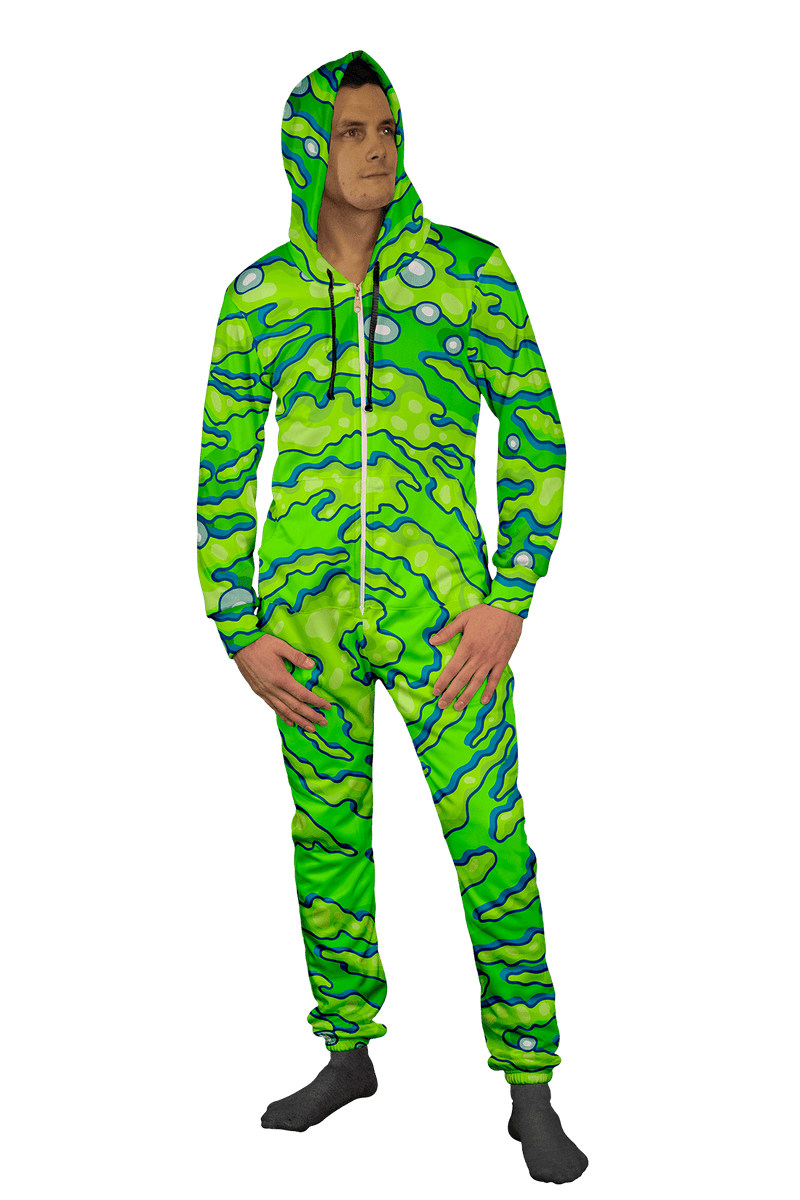 Rick and Morty | Neon Portal Adult Onesie Electro Threads