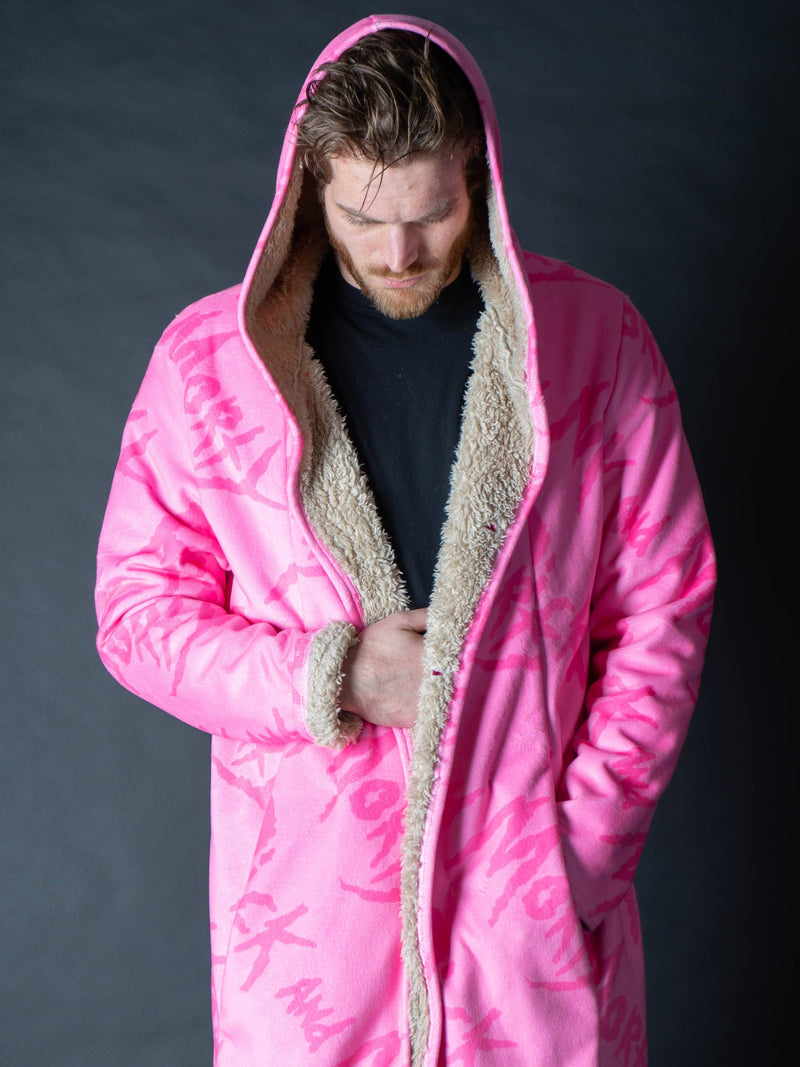 Rick and Morty Pink on Pink Dream Cloak Dream Cloak Electro Threads