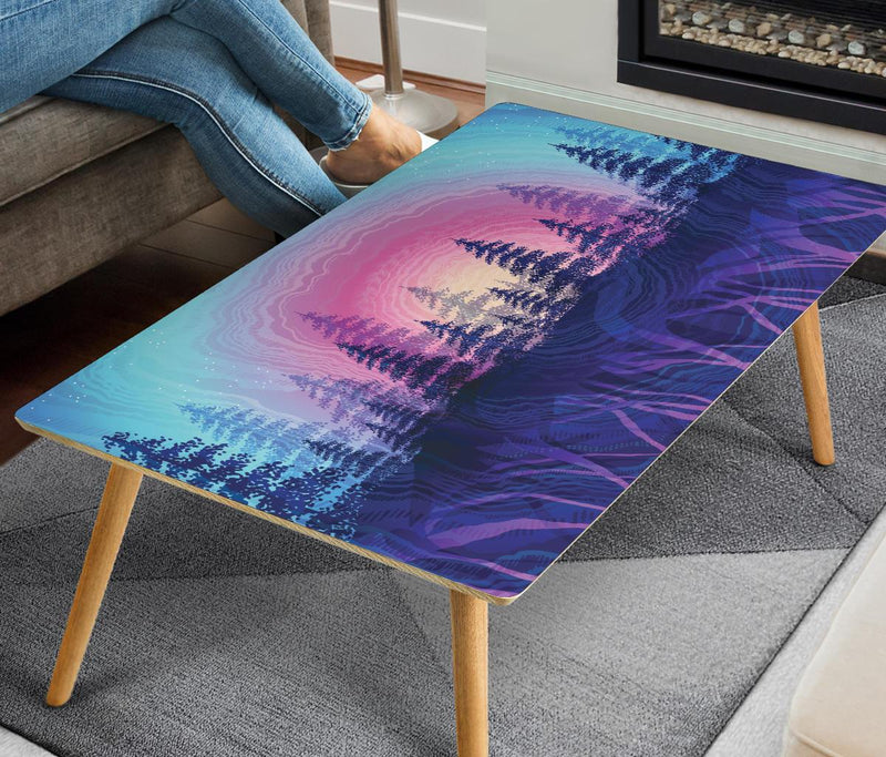 Rooted In Color Coffee Table Coffee Table Electro Threads