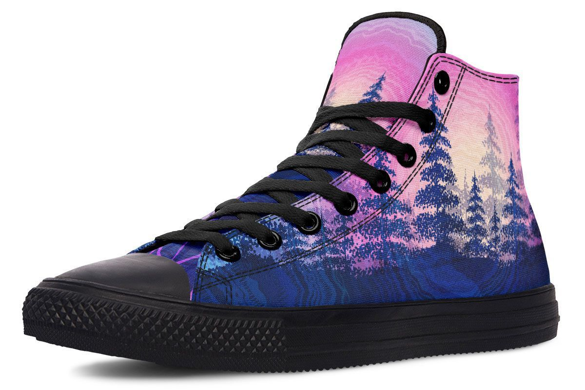 Rooted In Color Hightop YWF Women's Hightops Black Sole US 5 / EU35.5