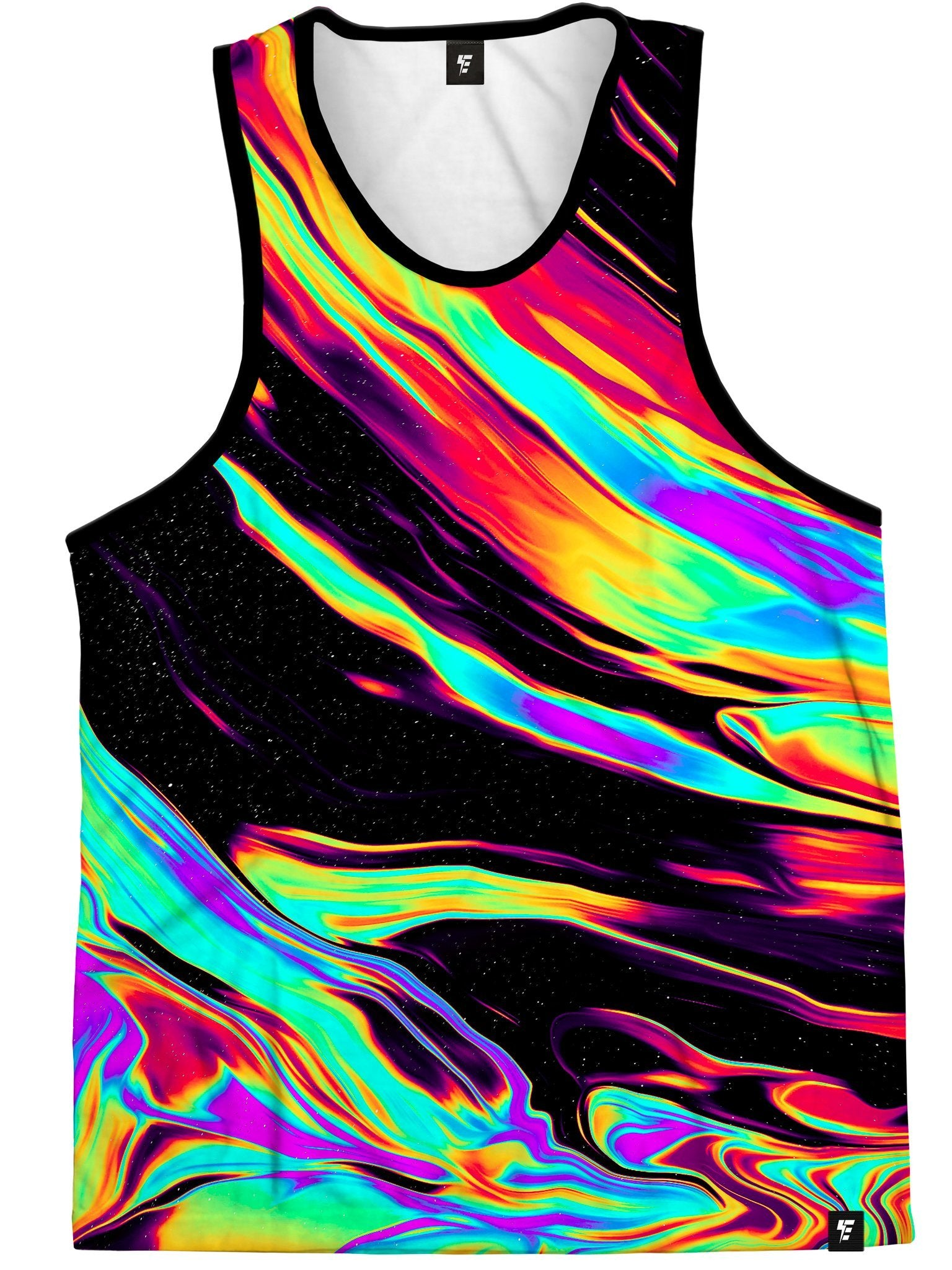 Run For Cover Tank Tank Tops Electro Threads
