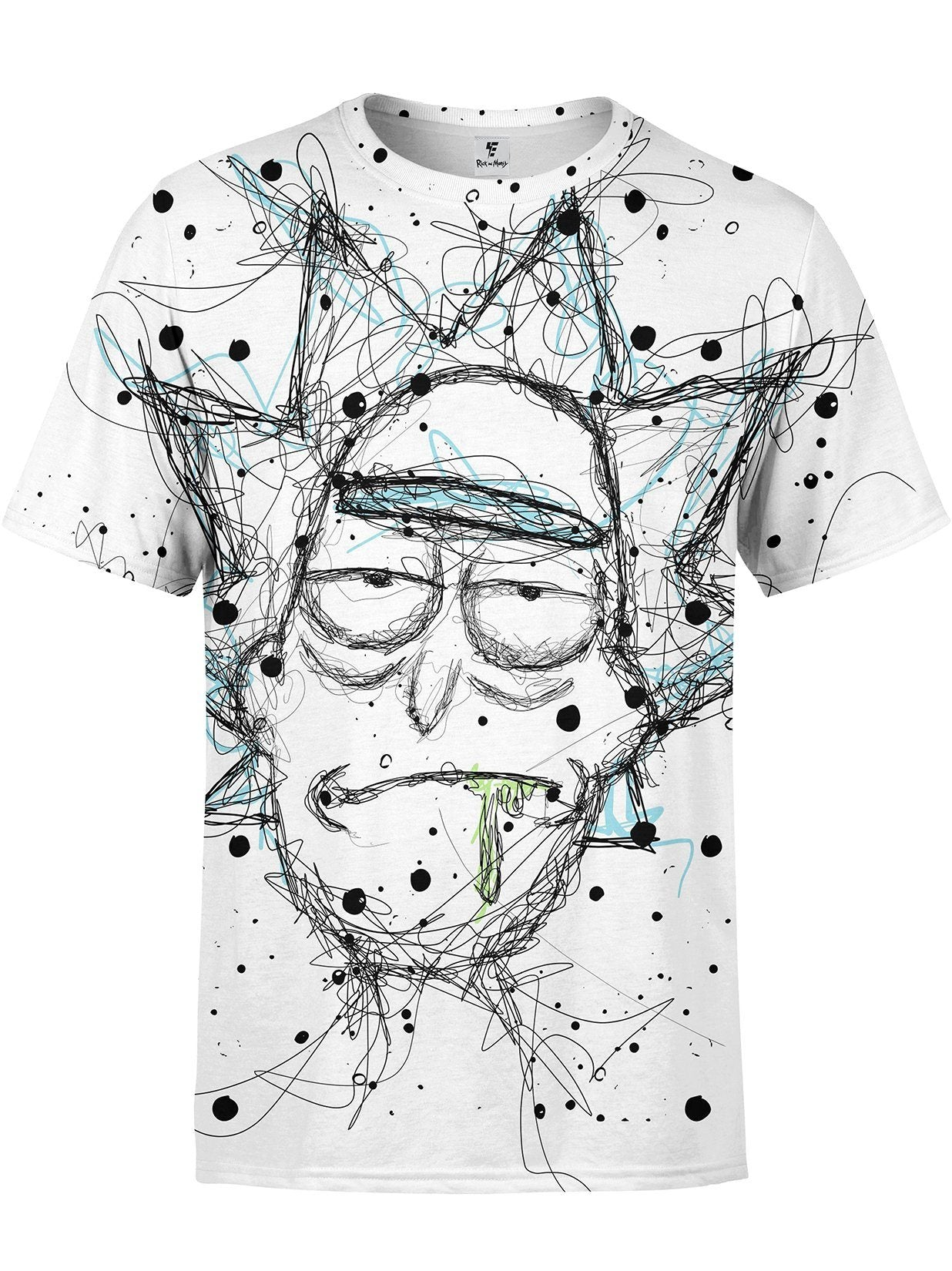 Scribble Rick Tee T-Shirts Electro Threads
