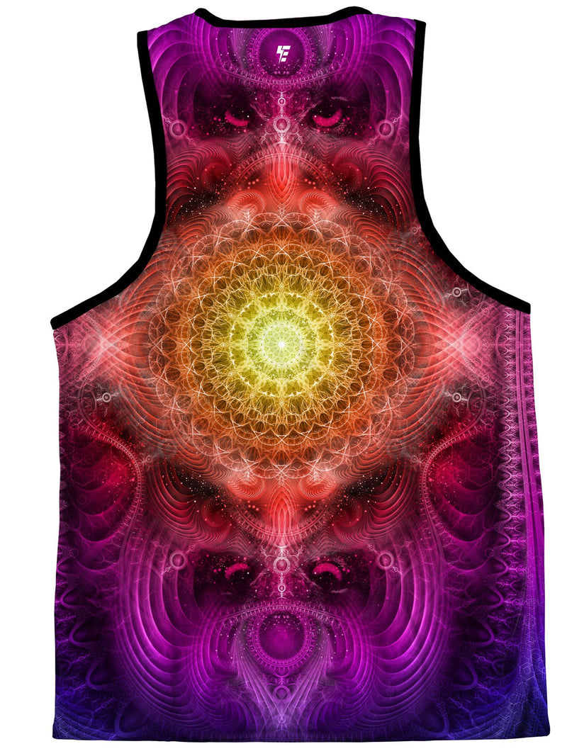 Shamanic Wisdom (Magenta) Tank Top Tank Tops Electro Threads