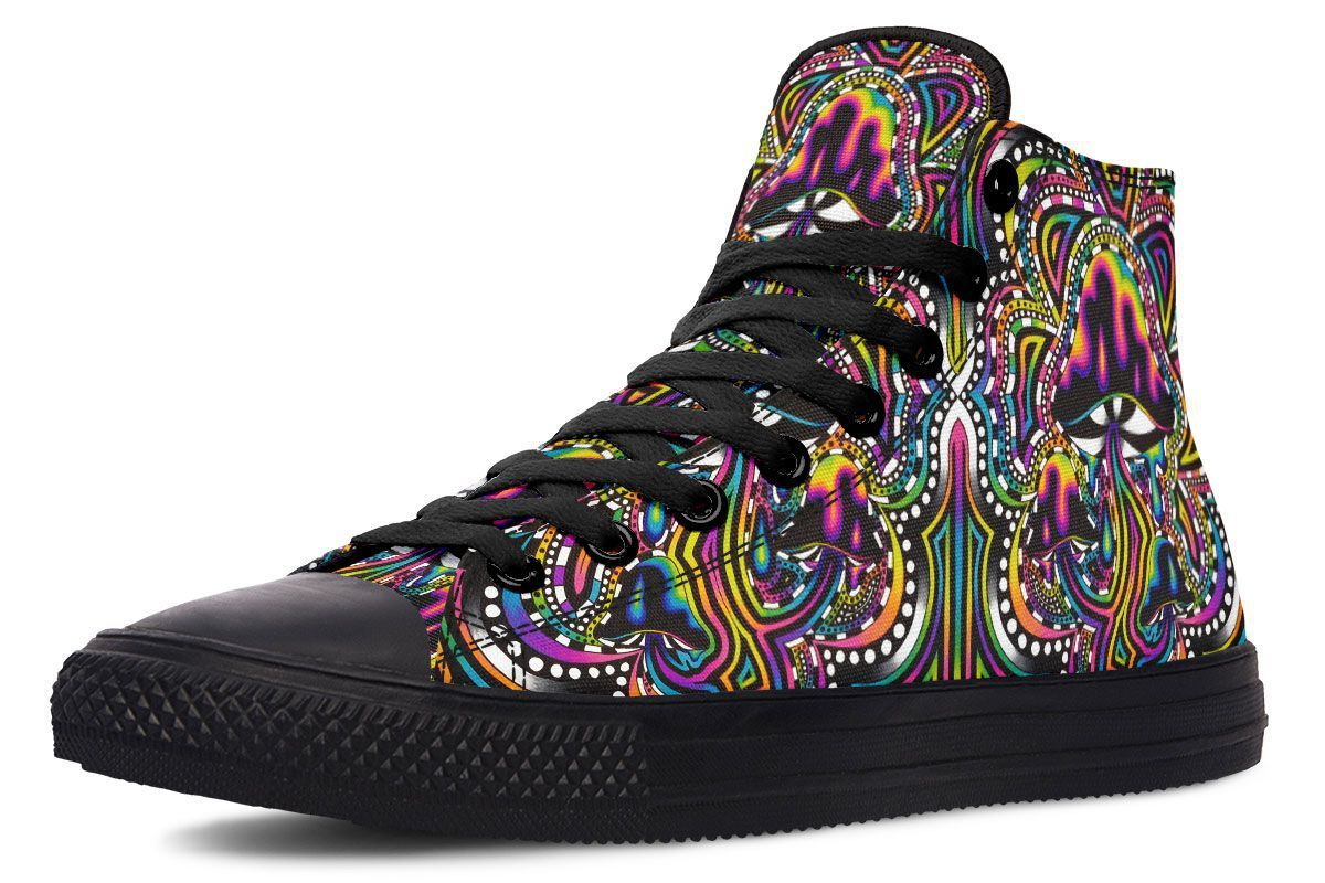 Shroomz Hightop YWF Women's Hightops Black Sole US 5 / EU35.5